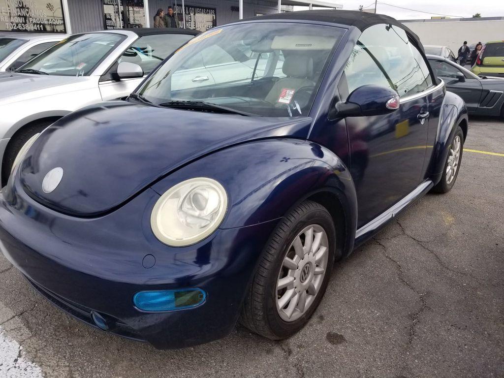 2004 Volkswagen New Beetle Convertible 2dr Convertible GLS Manual - 18319471 - 0