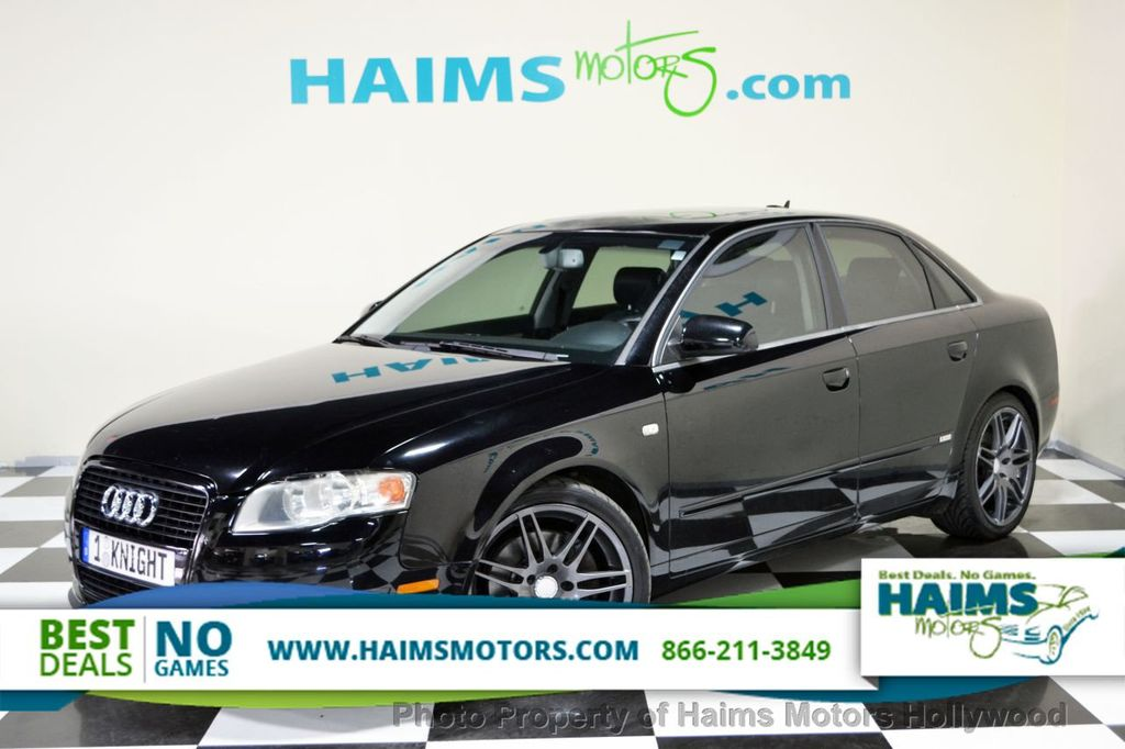2005 used audi a4 2005 5 4dr sedan 3 2l quattro automatic at haims motors ft lauderdale serving. Black Bedroom Furniture Sets. Home Design Ideas
