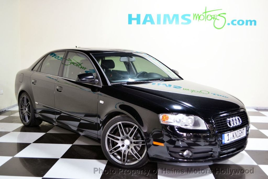 2005 used audi a4 2005 5 4dr sedan 3 2l quattro automatic at haims motors serving fort. Black Bedroom Furniture Sets. Home Design Ideas