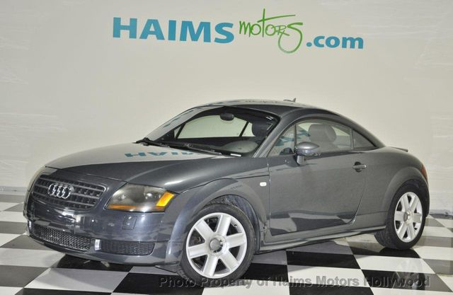 2005 Used Audi Tt 2dr Cpe Auto At Haims Motors Serving Fort