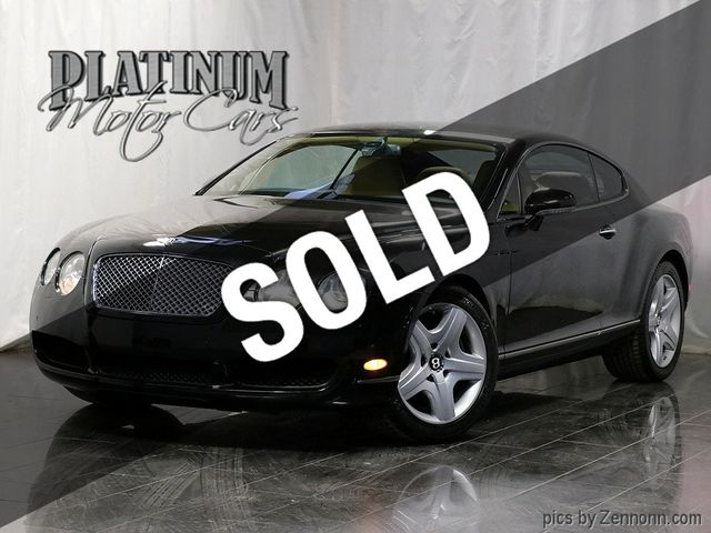 2005 Bentley Continental 2dr Coupe GT