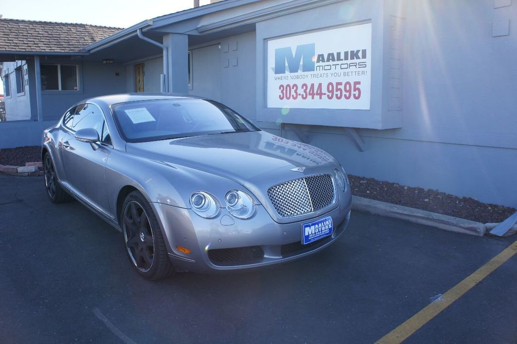 2005 Bentley Continental 2dr Coupe GT - 17403073 - 0