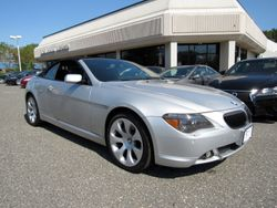 2005 BMW 6 Series - WBAEK73425B325698