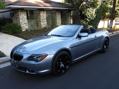 2005 BMW 6 Series 645Ci Convertible