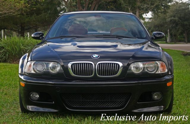 2005 BMW M3 2005 BMW E46 M3 COUPE JET BLACK ON CINNAMON 6-SPEED MANUAL LOADE - Click to see full-size photo viewer