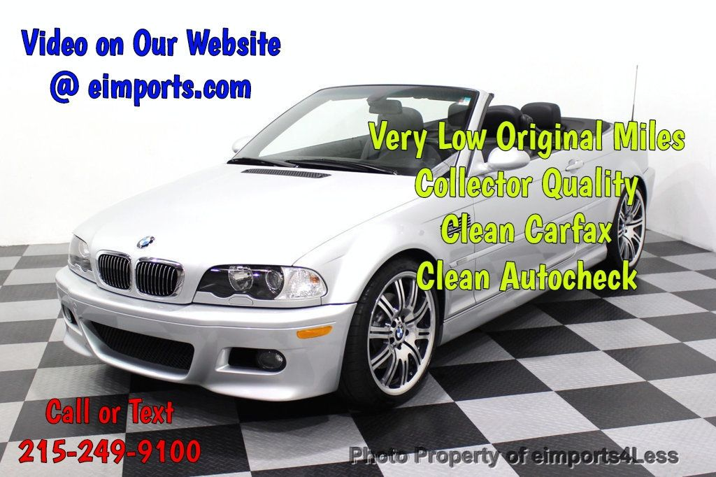 2005 BMW M3 M3 Xenons COLD WEATHER HK audio rear park assist - 18181388 - 0