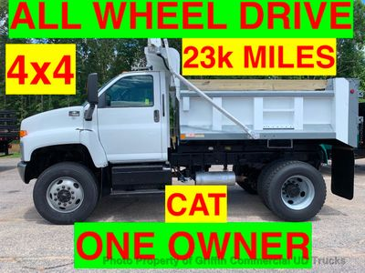 2005 Chevrolet AWD DUMP TRUCK JUST 23k MILES CAT ALLISON PRE-EMISSION ONE OWNER NC TRUCK