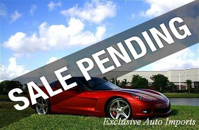 2005 Chevrolet Corvette Fully-loaded 1SB Package Coupe