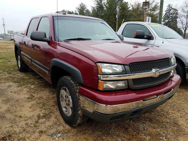 2005 Chevrolet Silverado 1500 Regular Cab >> 2005 Chevrolet Silverado 1500 Crew Cab 143 5 Wb 4wd Z71 Truck Crew Cab Short Bed For Sale Florence Sc 9 995 Motorcar Com