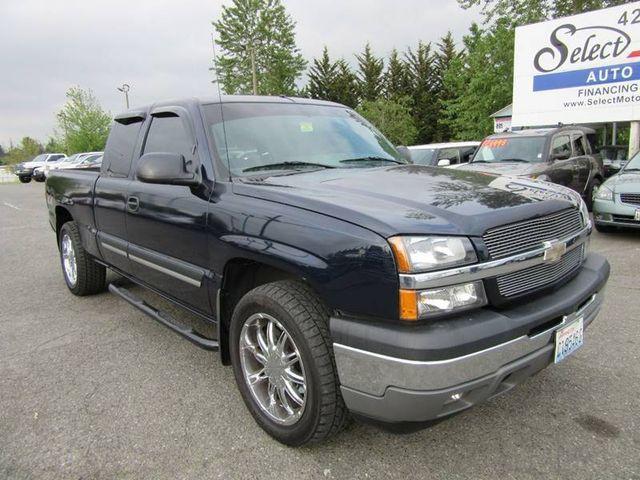 2005 Chevrolet Silverado 1500 >> 2005 Chevrolet Silverado 1500 Ext Cab 143 5 Wb 4wd Ls Truck Extended Cab Short Bed For Sale Lynnwood Wa 10 988 Motorcar Com