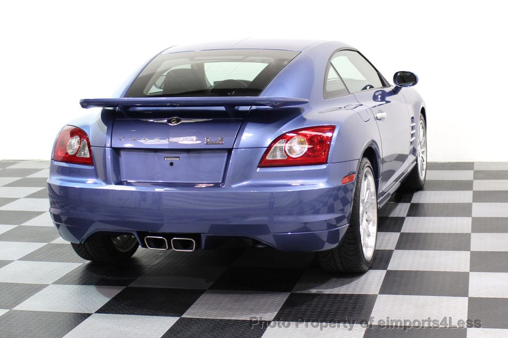 2005 Chrysler Crossfire CERTIFIED CROSSFIRE SRT6 - 17546154 - 29
