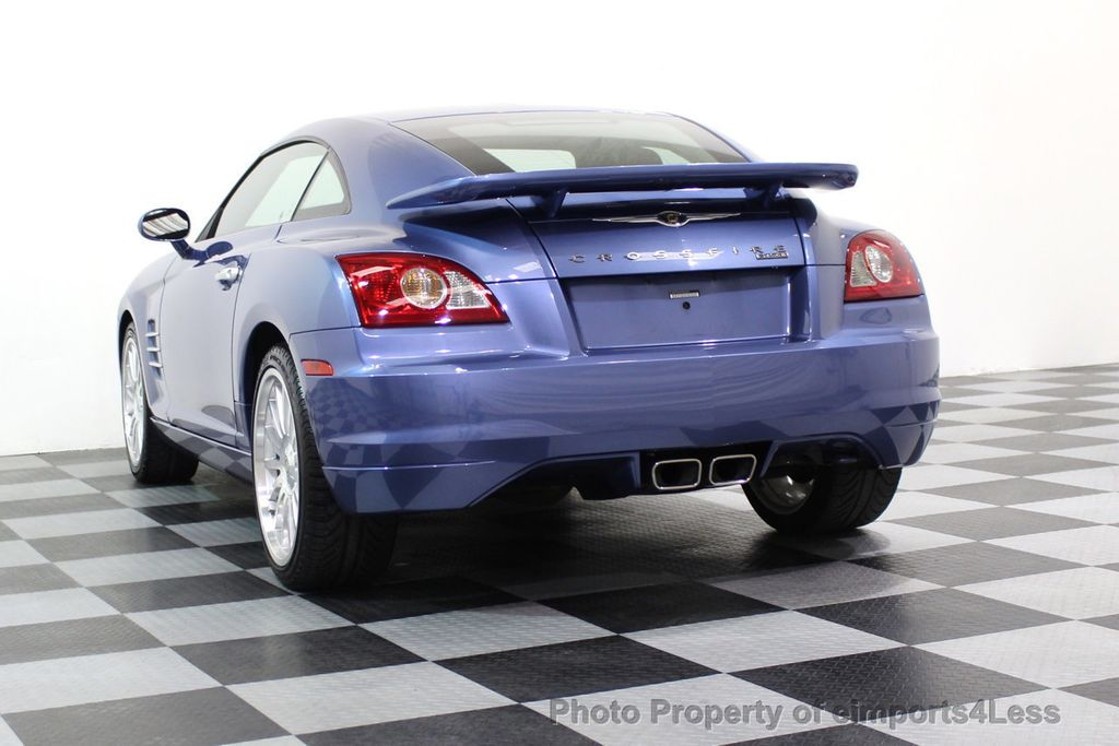 2005 Chrysler Crossfire CERTIFIED CROSSFIRE SRT6 - 17546154 - 42