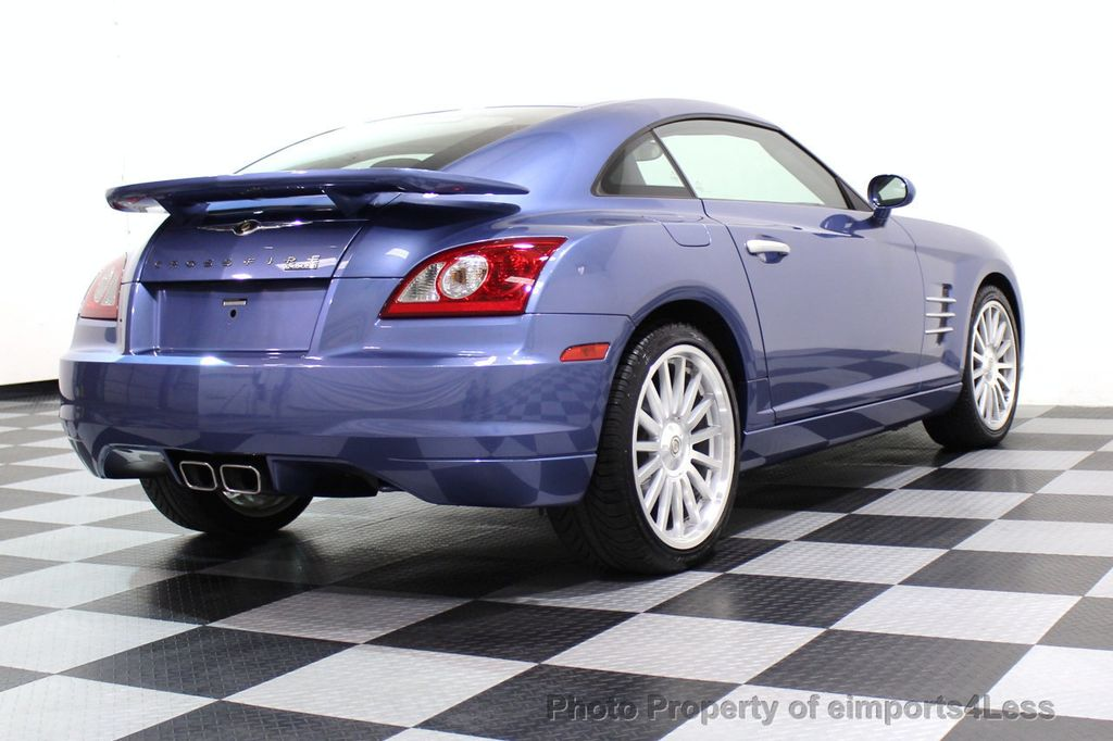 2005 Chrysler Crossfire CERTIFIED CROSSFIRE SRT6 - 17546154 - 43