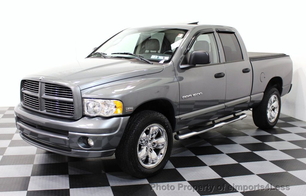2005 used dodge ram 1500 ram 1500 quad cab 4wd 5 7l v8. Black Bedroom Furniture Sets. Home Design Ideas