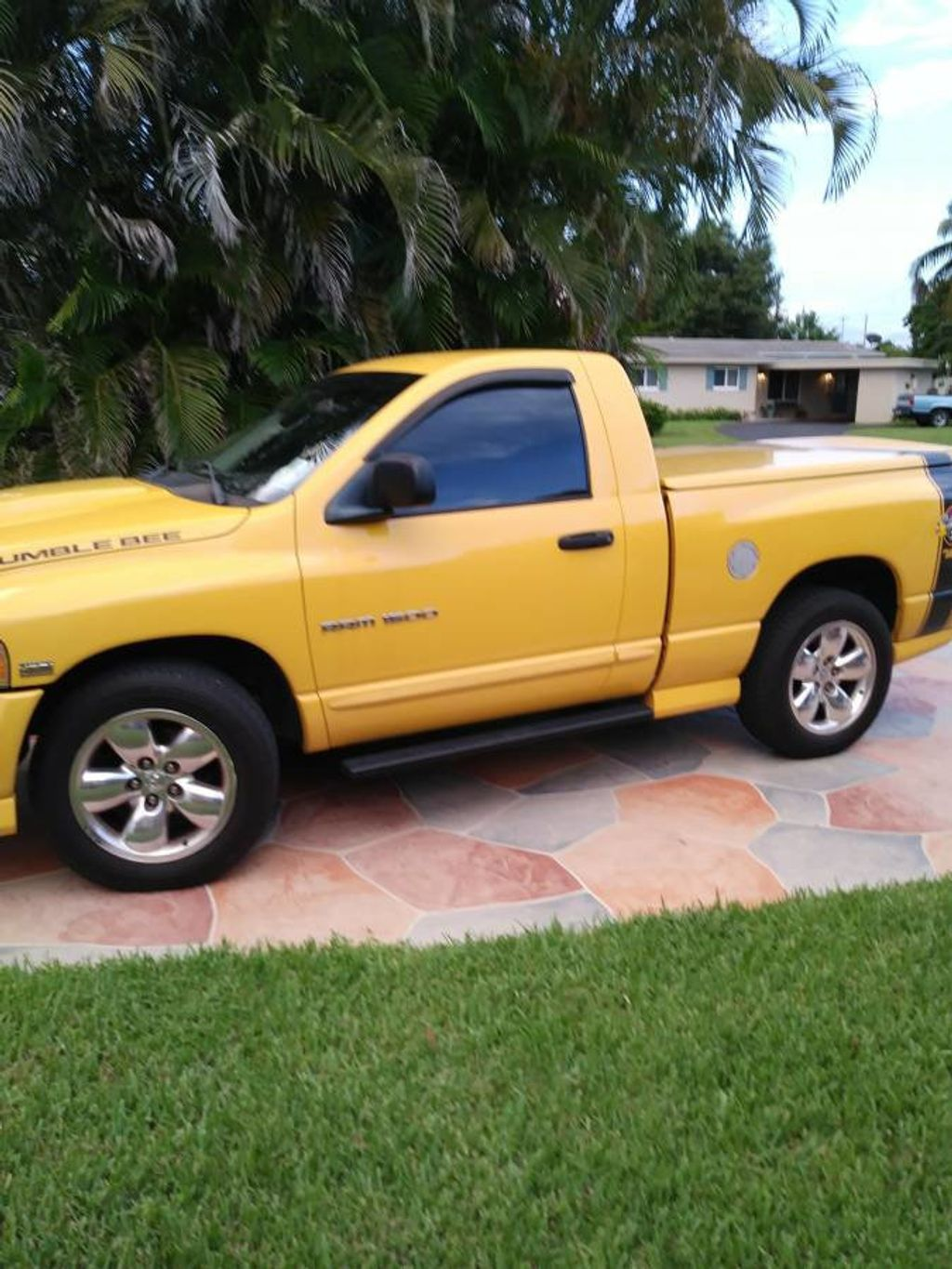 2005 used dodge ram 1500 rumble bee limited edition for sale at webe autos serving long island. Black Bedroom Furniture Sets. Home Design Ideas