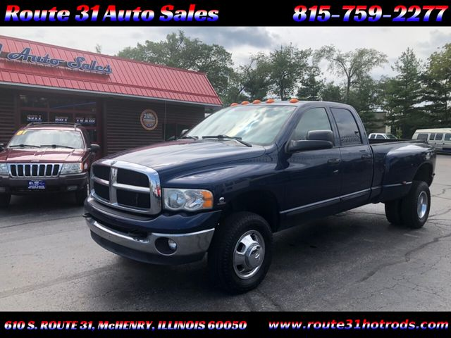 Used Dodge Ram >> 2005 Used Dodge Ram 3500 Quad Cab At Route 31 Auto Sales Serving Mchenry Il Iid 19254084