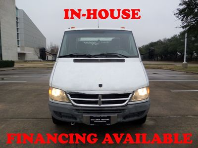2005 Dodge Sprinter 3500 Cab & Chassis 2005 Dodge Sprinter 3500 Cab & Chassis RWD 2.7L, 126k Miles - Click to see full-size photo viewer