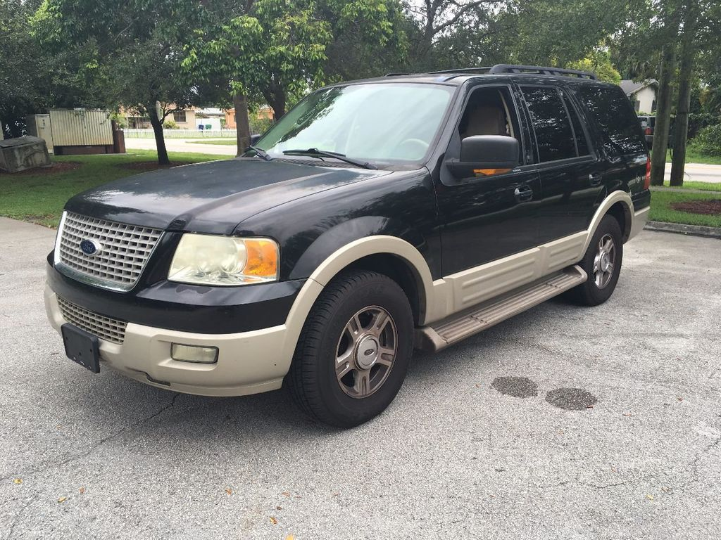 2005 Ford Expedition 5.4L Eddie Bauer SUV - 1FMPU17575LA16854 - 0