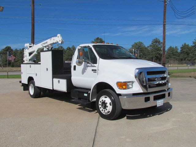 2005 Ford F650 Mechanics Service Truck - 9736307 - 1