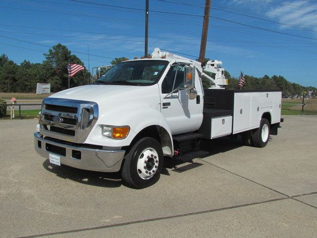 2005 Ford F650 Mechanics Service Truck - 9736307 - 3