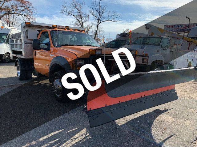 2005 Used Ford F 550 Sd Stainless Steel Dump Truck 4x4 Pto