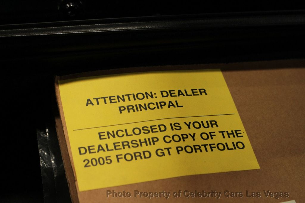 2005 Ford GT 42 Miles, On MSO - 17978937 - 49