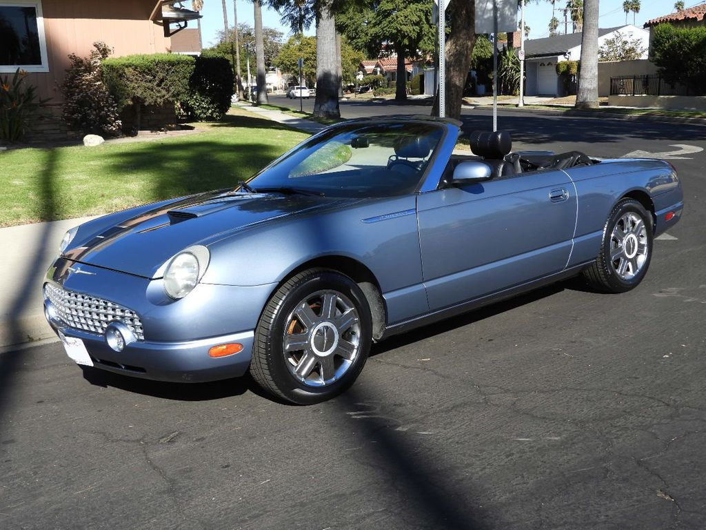 2005 ford thunderbird 2dr convertible 50th anniversary for sale los angeles ca 14995 motorcar com