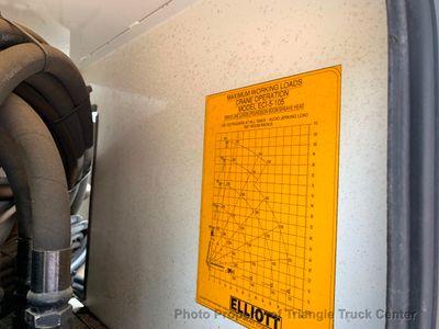 2005 Freightliner TANDEM AERIAL TRUCK JUST 8k MILES ALLISON ELLIOTT I-110 HI REACH AERIAL WORK PLATFORM - Click to see full-size photo viewer
