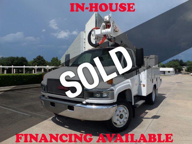2005 GMC C5500 2005 GMC C5500 Bucket Truck with RWD, V8 Turbo Diesel, A/T, 138k
