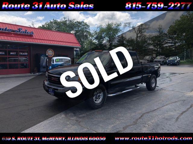 """2005 GMC Sierra 1500HD Crew Cab 153.0"""" WB 4WD SLT"""