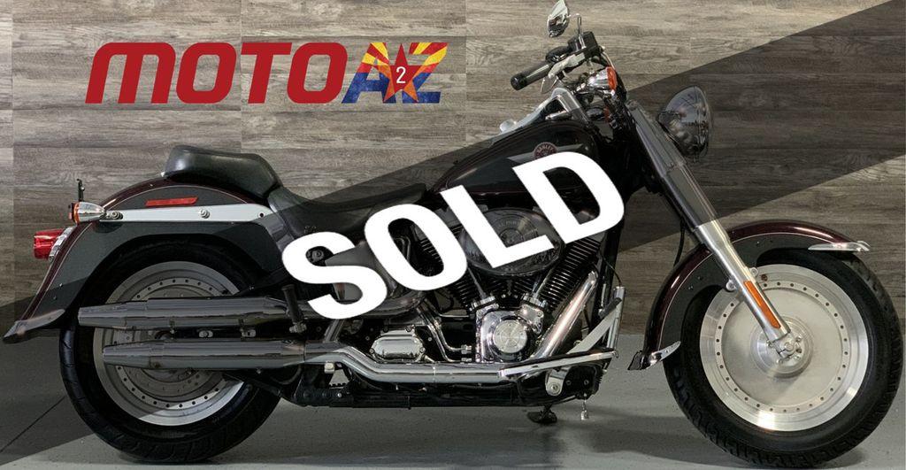 2005 Harley Davidson >> 2005 Used Harley Davidson Flstfi Fat Boy Low Miles At Moto A2z Serving Mesa Az Iid 19558238