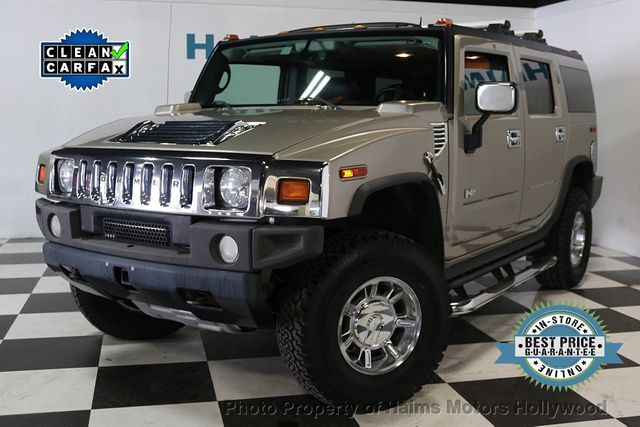 2005 Used Hummer H2 4dr Wagon Suv At Haims Motors Serving Fort Lauderdale Hollywood Miami Fl Iid 17642834