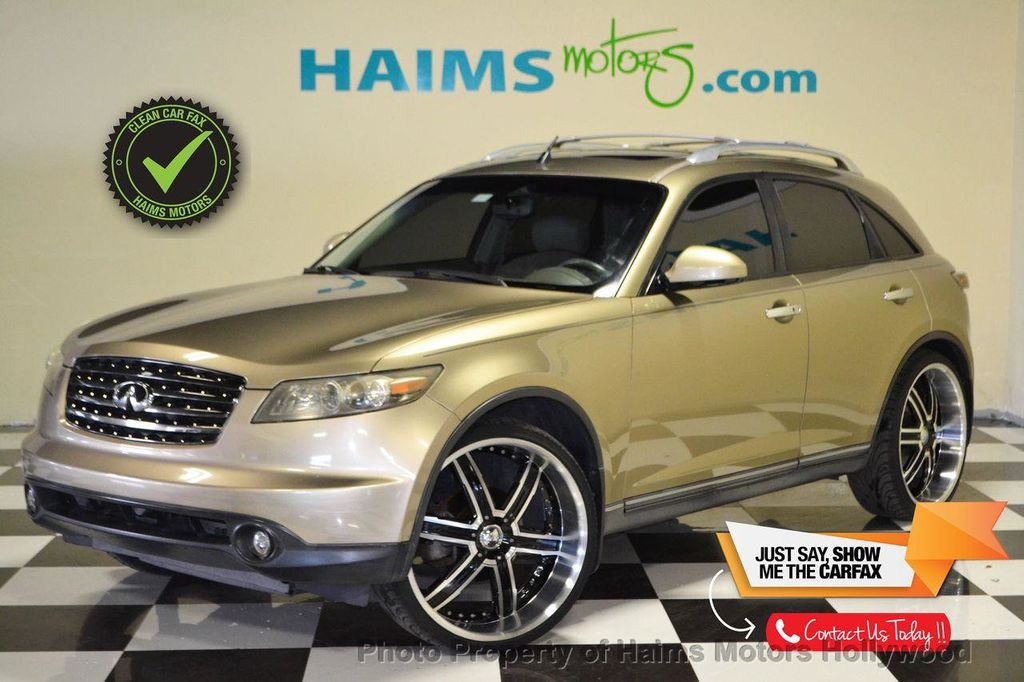 2005 Used INFINITI FX35 4dr 2WD at Haims Motors Serving Fort ...