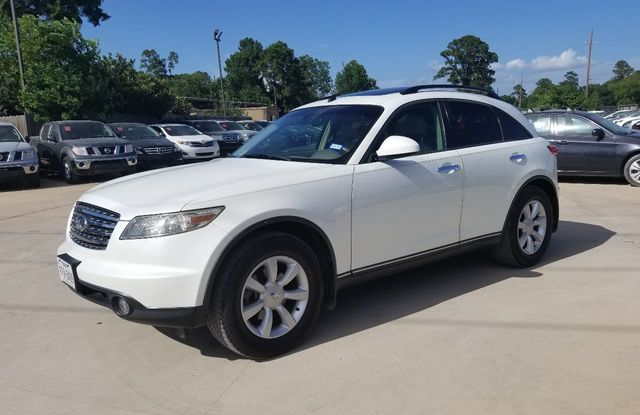 2005 Used Infiniti Fx35 4dr 2wd At Car Guys Serving