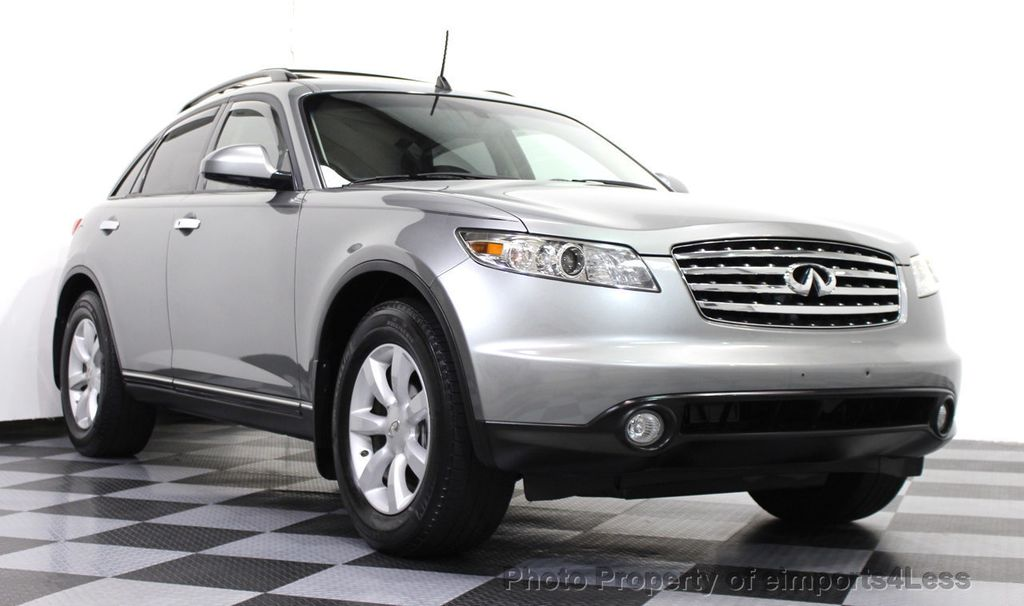 2005 Used INFINITI FX35 CERTIFIED FX35 AWD SUV CAMERA / NAVIGATION ...