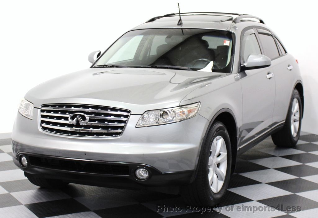 2005 used infiniti fx35 certified fx35 awd suv camera navigation at eimports4less serving. Black Bedroom Furniture Sets. Home Design Ideas