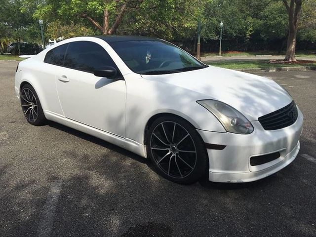 Used Infiniti G35 >> 2005 Used INFINITI G35 Coupe 2dr Coupe Automatic at A Luxury Autos Serving Miramar, FL, IID 15065325