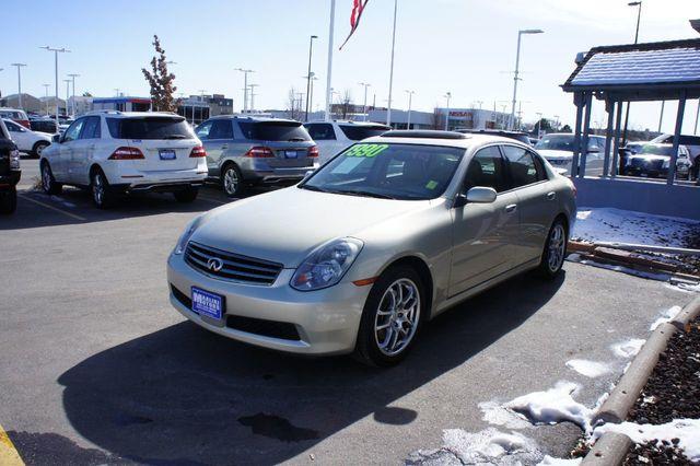 2005 infiniti g35 sedan g35 4dr sedan manual - 18587801 - 1