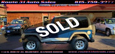 2005 Jeep Wrangler 2dr X - Click to see full-size photo viewer