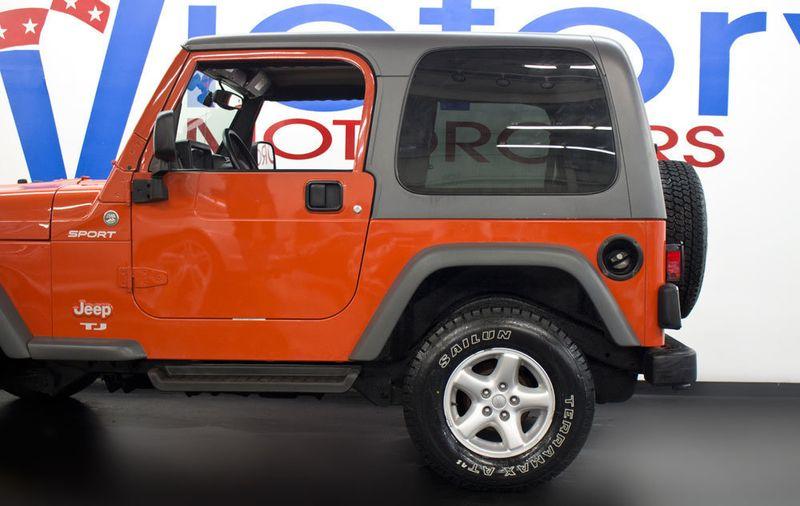2005 Jeep Wrangler Sport   17159148   26