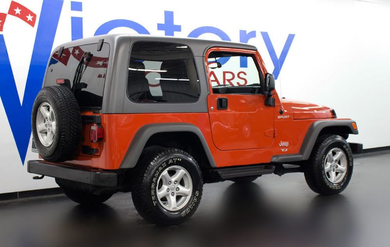 Superb 2005 Jeep Wrangler Sport   17159148   7