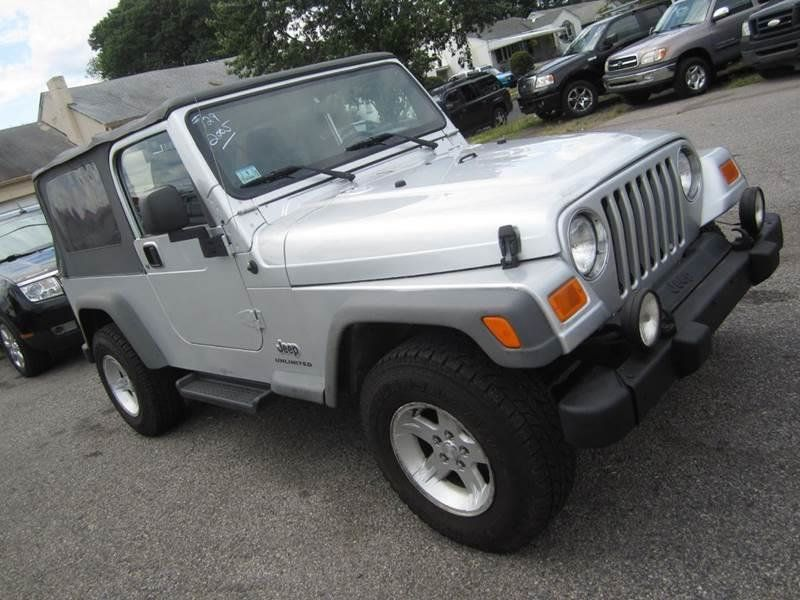 2005 used jeep wrangler unlimited 4x4 lwb at contact us serving cherry hill nj iid 14017181. Black Bedroom Furniture Sets. Home Design Ideas