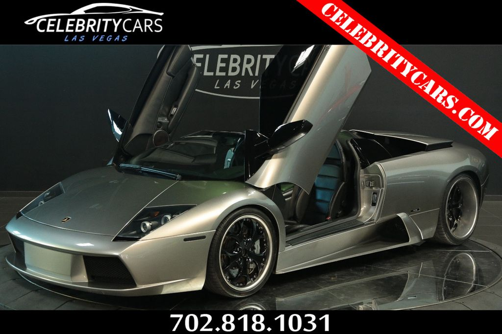 2005 Used Lamborghini Murcielago 2dr Convertible Roadster At Celebrity Cars Las Vegas Nv Iid 18347131