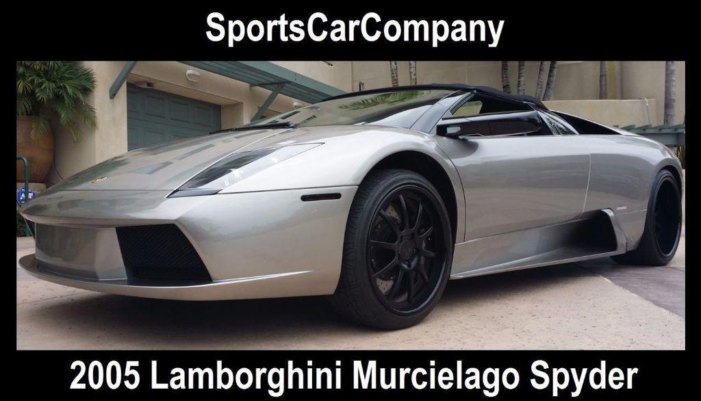 2005 Lamborghini Murcielago Spyder MURCIELAGO SPYDER - 15590978 - 1