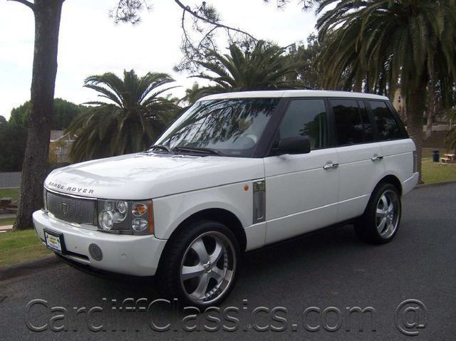 2005 Used Land Rover Range Rover HSE at Cardiff Clics Serving ...