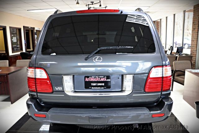 2005 Lexus LX 470 NAVIGATION AND BACK UP CAMERA  - 18428951 - 39