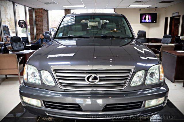 2005 Lexus LX 470 NAVIGATION AND BACK UP CAMERA  - 18428951 - 41