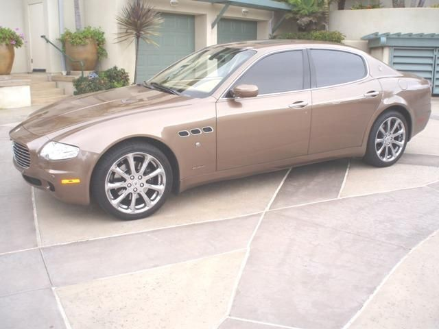 2005 Maserati Quattroporte Base Trim