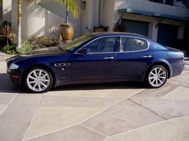 Used Maserati Quattroporte >> 2005 Used Maserati Quattroporte Beautiful Blue Tan At Sports Car