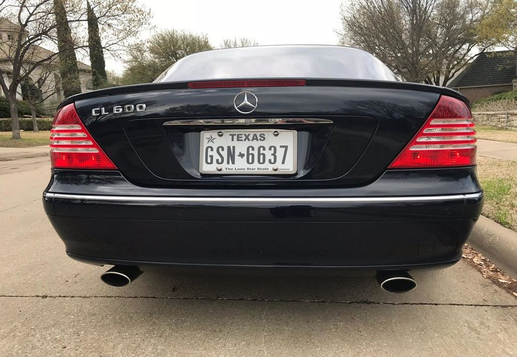 2005 Mercedes-Benz CL-Class CL600 2dr Coupe 5.5L - 17470479 - 82